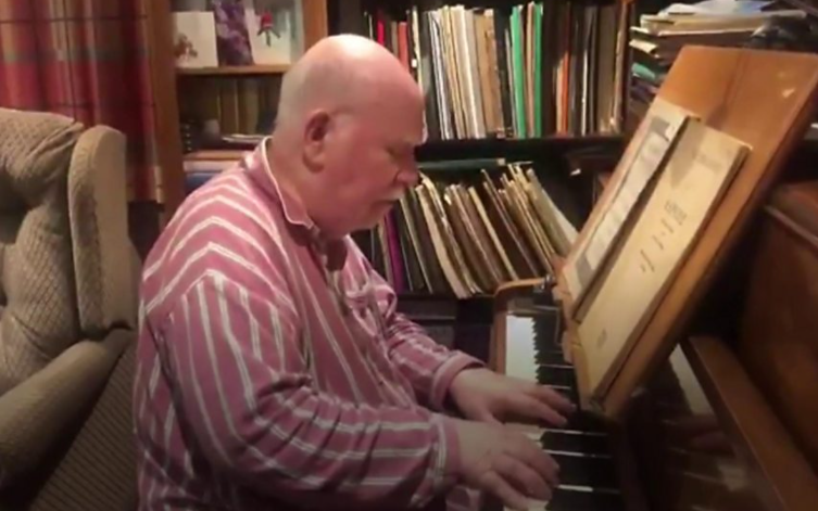 Paul Harvey: Single gives 'new lease of life' to composer with dementia